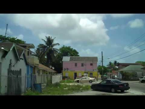 Nassau Bahamas Tour Ride Part  1