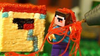 3Д Ручка DIY и 3Д НУБИК - Лего Майнкрафт Мультики LEGO Minecraft - Видео Мультфильмы для Детей