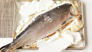 Rezept: Lachs in Salzkruste selber machen