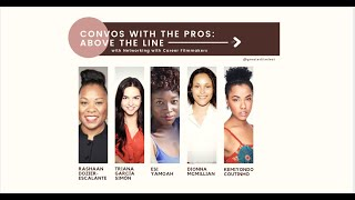 CONVOS WITH PROS: ABOVE THE LINE