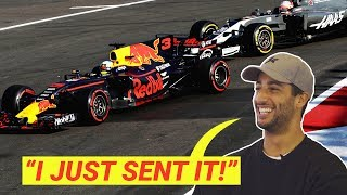 Daniel Ricciardo On Divebombs And Having Big Balls