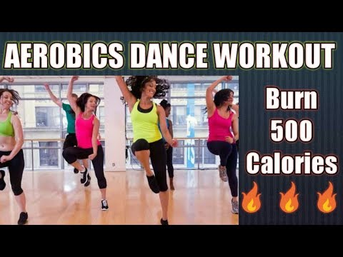 aerobics-dance-workout-to-lose-weight-||-burn-500-calories-in-5-minutes
