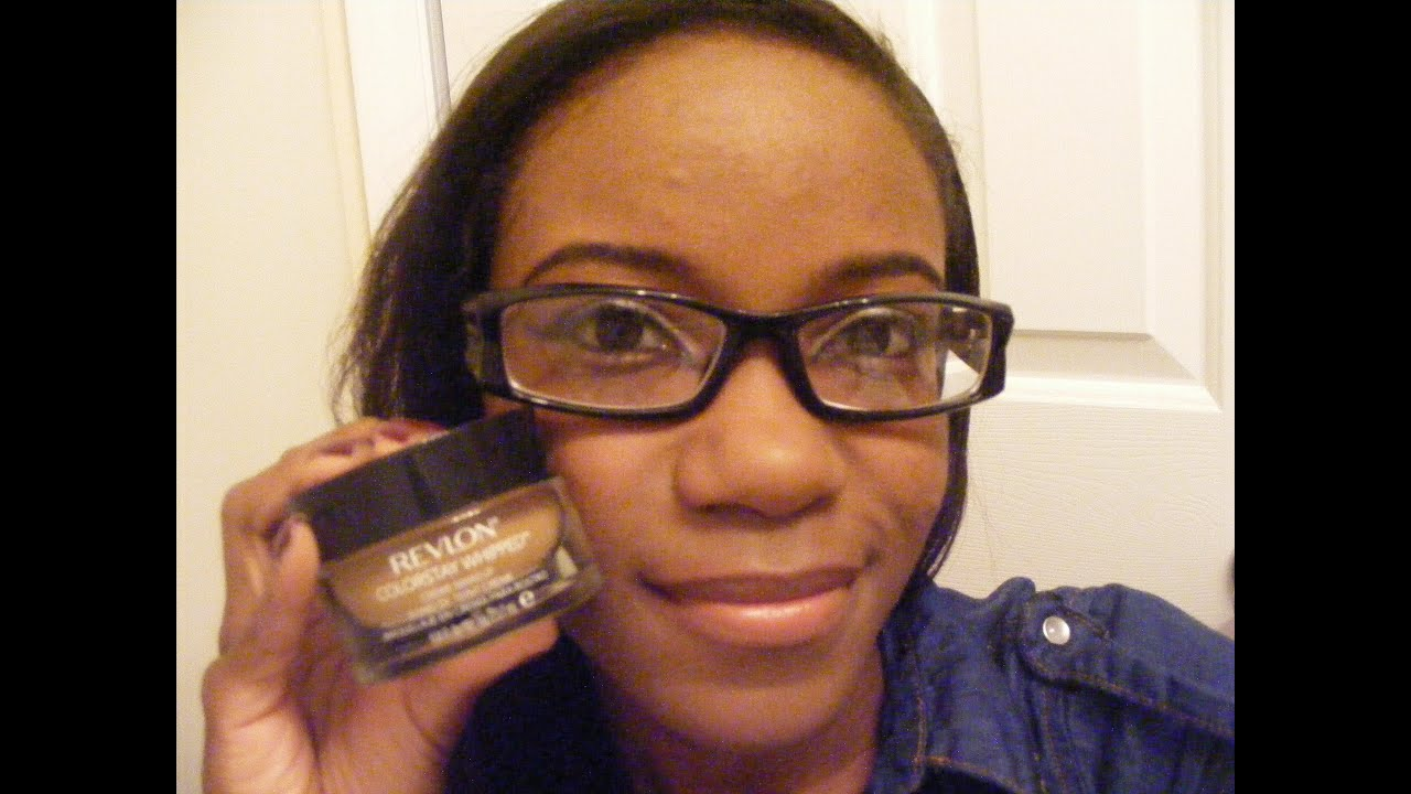 REVIEW + DEMO! Revlon Colorstay Whipped Foundation - Caramel - YouTube
