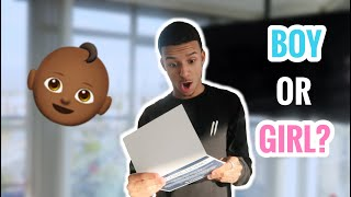 BROTHER OPENS GENDER REVEAL ENVELOPE EARLY ON CAMERA!!! *Emotional*
