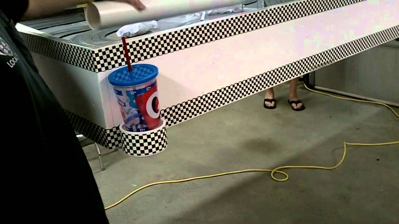 Slot Car Track That Lifts Into Ceiling Youtube