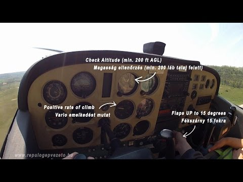 Cessna 172 Go Around Practice During Type Rating Flight