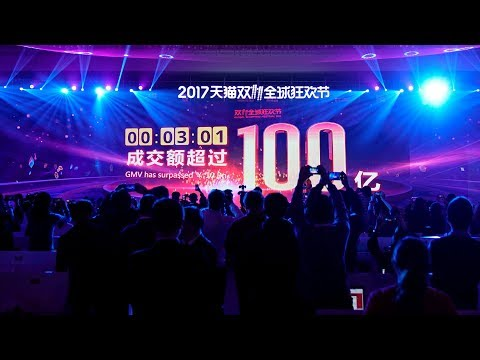China's Singles' Day tops US$1.5bil in first three minutes