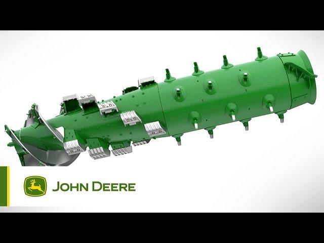 John Deere S700 - #8 Il vantaggio del rotore singolo