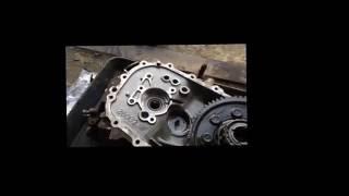 Замена сальника первичного вала на 6-ти ступенчатой МКПП   Hyundai Solaris 2014 / 1.6 об  / 123л