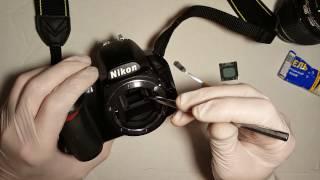 Ремонт дзеркала Nikon D3100 (Fix Mirror Nikon D3100)