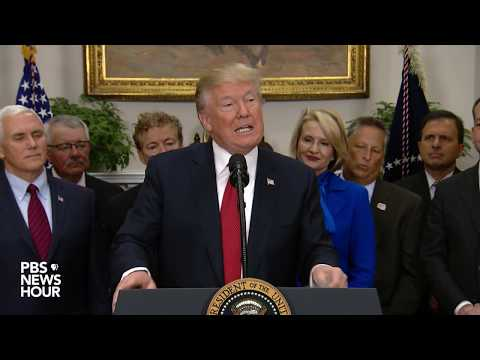 WATCH: President Trump signs executive order reducing healthcare regulations