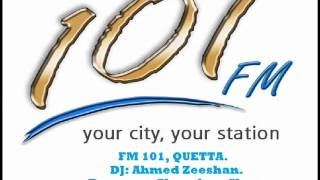 Dj Ahmed Zeeshan FM 101 Quetta, Ahmed Faraz Poetry .wmv