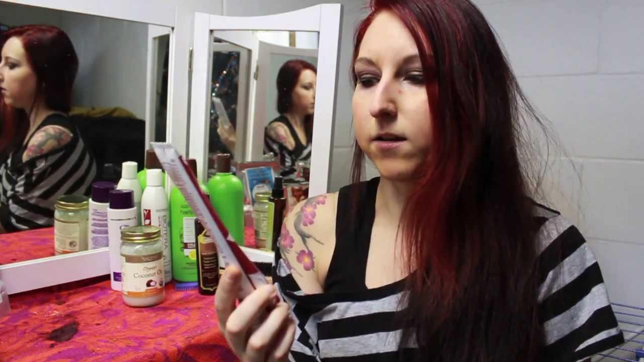 Henna Hair Tutorial Luna Rouge Henna Red Hair Youtube