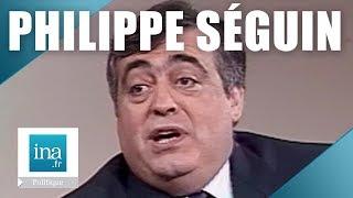Philippe Séguin dans L'Heure de Vérité | 03/06/1987 | Archive INA