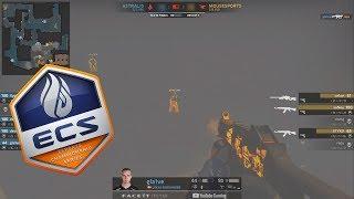 ECS S6 Finals - Astralis vs Mousesports - 400IQ SMOKES!! - Highlights - CS:GO