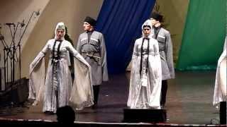 Georgia (Gruzja) - Osuri (love dance) Tydzień Kultury Beskidzkiej 2012