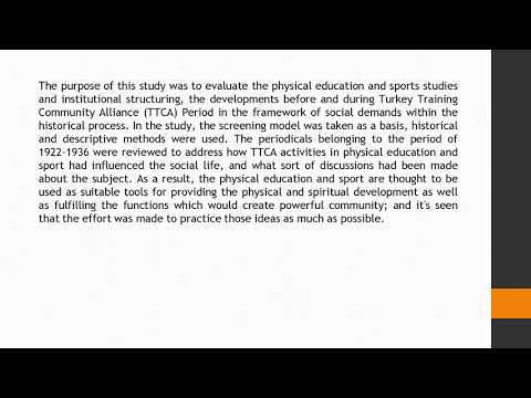 The Physical Education and Sport Studies in the Framework of Social Demands Institutional Structurin