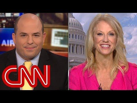 Stelter presser Kellyanne Conway on Trump's Russia tweets