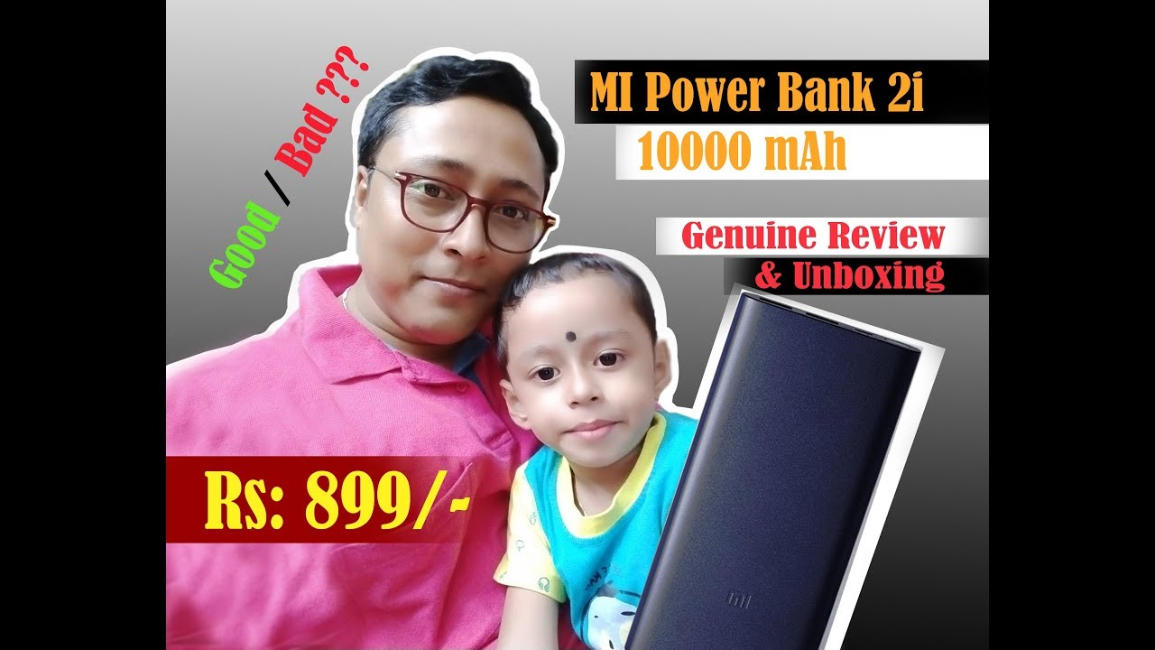MI Power Bank 2i Unboxing & Quick Review, 10000 mAh