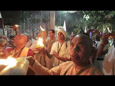 Grand Arrival & Welcoming of H H Jayapatākā Swami back to Mayapur