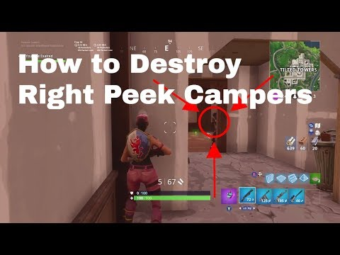 How To Kill A Player With The Right Hand Peek Every Time + Clips | Tips And Tricks | Fortnite