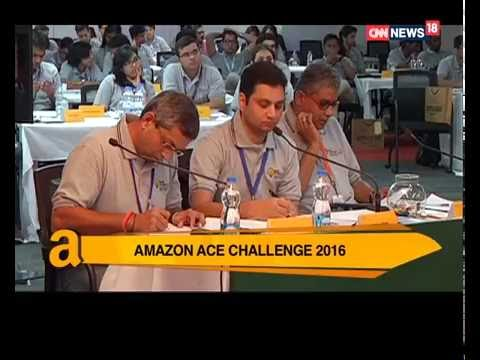 Finale of Amazon Customer Excellence (ACE) Challenge 2016