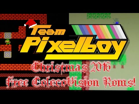 Christmas 2016 Colecovision Rom Releases from Team Pixelboy!