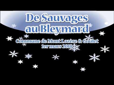 De Sauvages au Bleymard un jour d'hiver