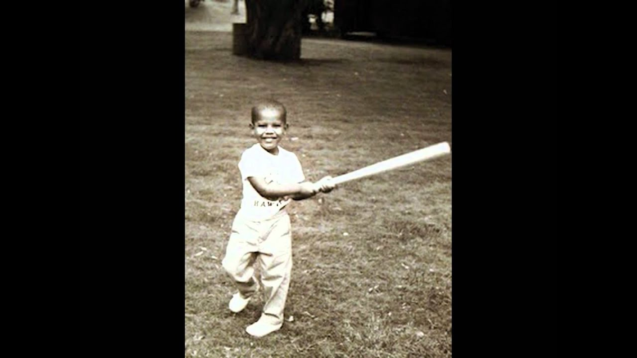 Barack Obama Childhood Pictures YouTube