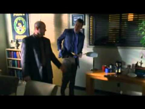 Veronica Mars- Keith finds Veronica in the coat closet!