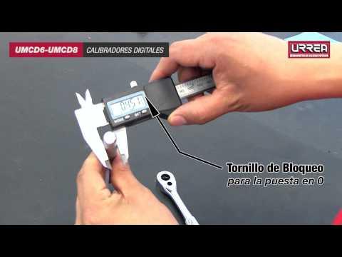 Calibradores Digitales URREA URREA México
