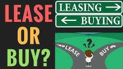 Leasing Vs Buying A Car (Pros and Cons) | How to Calculate a Car Lease Payment