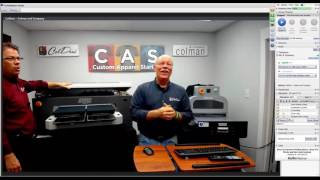 Direct to Garment Printer Basics July 2016