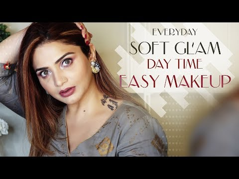 how-to-do-soft-glam-day-time-look-|-easy-makeup-tutorial-|-krushhh-by-konica
