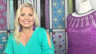 Kristin Omdahl  YouTube Channel Trailer Knitting Crochet Craft DIY Handcraft Your Life with Love