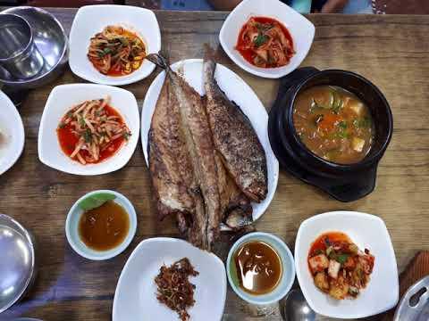 Grilled fish in seoul korea [Korea Trip Guide]