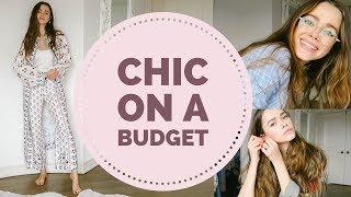 Chic on a Budget | Zara, H&M, Glasses Haul