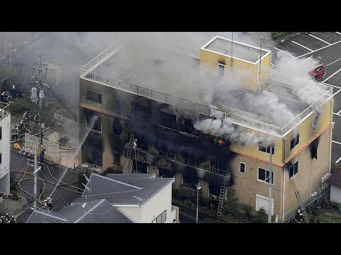 33 Dead In Suspected Arson At Japan's Kyoto Animation Studio
