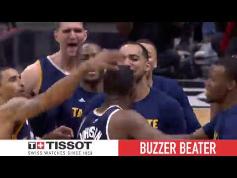 Tissot Buzzer Beater: Joe Johnson Wins Game 1 for the Jazz! | April 15, 2017