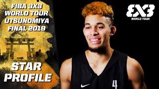 Isaiah Rivera - Professional Dunker | Star Profile | FIBA 3x3 World Tour - Utsunomiya Final 2019 Video