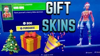HOW TO GIFT FORTNITE SKINS FOR KIDS | NOG OPS SKIN FOR BIRTHDAY OR CHRISTMAS!