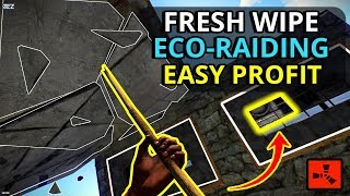 Gambar cover Profitable Rust FRESH WIPE ECO RAID Gives A GREAT START! - RUST SURVIVAL