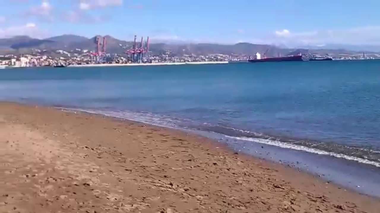 Playas de m laga capital el d a 9 de noviembre de 2014 youtube - Fotos malaga capital ...