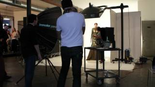 BIBHU MOHAPATRA - FALL 2012 COLLECTION PHOTOSHOOT BACKSTAGE