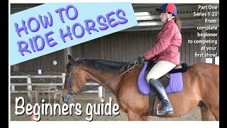 How to ride horses (Part 1 in the series) Introduction Getting started thumbnail