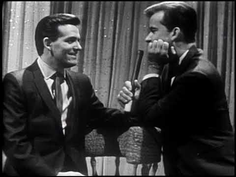 American Bandstand 1965- Interview Ronnie Dove