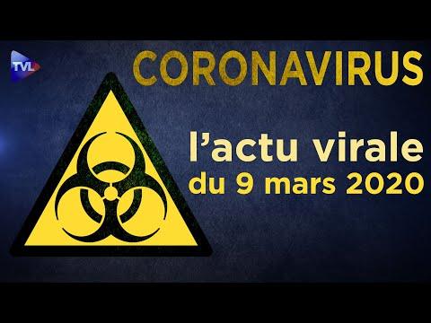 Coronavirus: l'actu virale du lundi 9 mars 2020