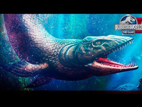 НОВЫЙ ГИБРИД Jurassic World The Game