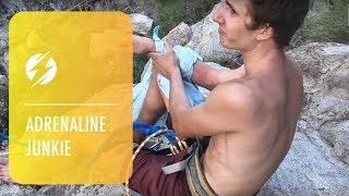 Slackliner Dislocates Shoulder After Failed Double Backflip