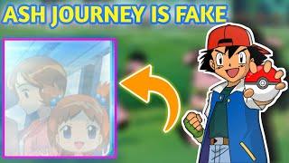 Ash journey is fake   not coma theory   Hindi Pokevilla z